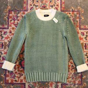 Kate Spade Chunky Knit Sage Sweater